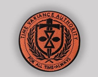 Loki MCU - TVA - iron on patch - Time  Variance Authority