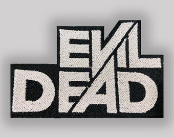 Evil Dead embroidered patch