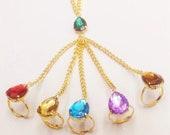 Infinity Stone Bracelet, Viking Leather Bracelet, Thorrrr Hammer Wristband Norse Mythology Runes Amulet Jewelry