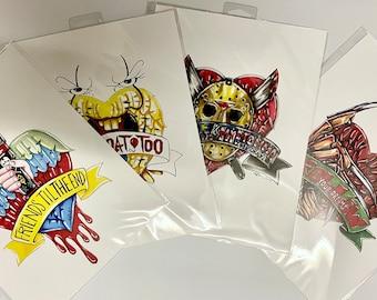 Horror Inspired Art Prints