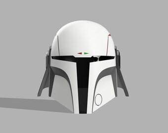 The Gunslinger v2 mandalorian helmet 3d print