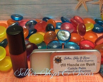 All Hands On Deck {Cuticle Oil or Balm}