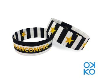 51 - Bianconero, bracelet, bracelet, made in Italy