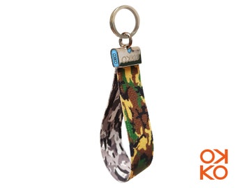 09 - Camouflage, keyring, made in Italy
