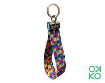 05 - Mosaic, keyring, made in Italy