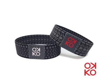 36 - Tire, bracelet, bracelet, made in Italy