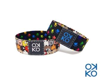 28 - Dogs, bracelet, bracelet, made in Italy
