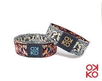 32 - Persian rug, bracelet, bracelet, made in Italy