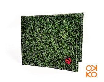 03 - Ladybug, ladybug, tyvek wallet OKKO, wallet, gift, gift, greetings, made in italy, crafts