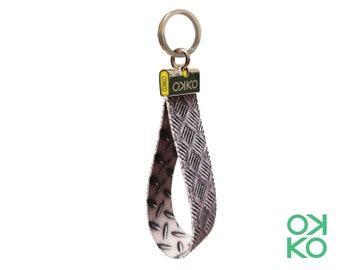 08 - Metal, metal, keyring, made in Italy