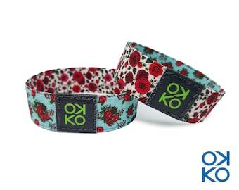 06 - Rose, bracelet, bracelet, made in Italy