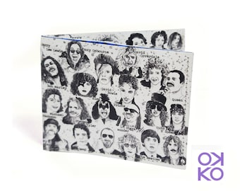 09 - Rockstar, music, tyvek wallet OKKO, wallet, gift, gift, greetings, made in italy, crafts