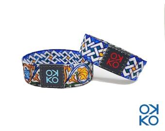 25 - Caltagirone, bracelet, bracelet, made in Italy