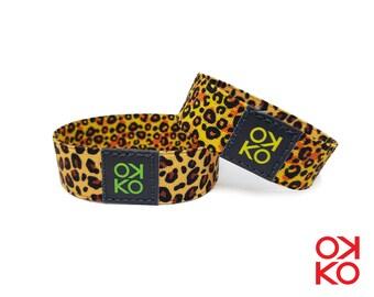 26 - Leopardate, bracelet, bracelet, made in Italy