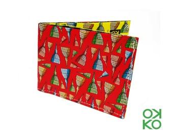 19 - Mole Antonelliana, Torino, Turin, nature, tyvek wallet OKKO, wallet, gift, gift, auguri, made in italy, craftsmanship