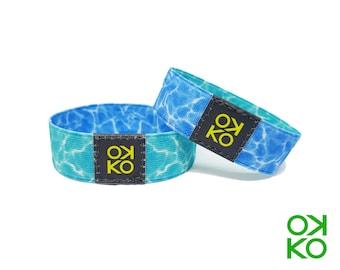 37 - Water, bracelet, bracelet, made in Italy