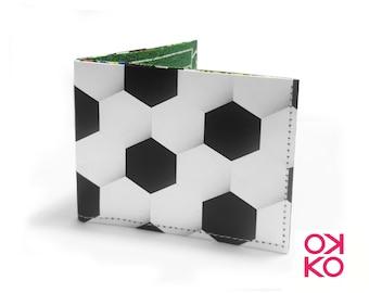 11 - Football, football, soccer, tyvek wallet OKKO, wallet, gift, gift, greetings, made in italy, crafts