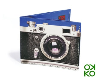 04 - Camera, tyvek wallet OKKO, wallet, gift, gift, greetings, made in italy, crafts