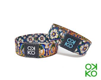 24 - Caltagirone, bracelet, bracelet, made in Italy
