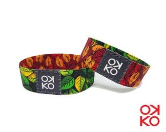 04 - Leaves, bracelet, bracelet, made in Italy