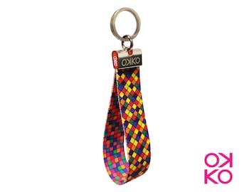 10 - Mosaic, keyring, made in Italy