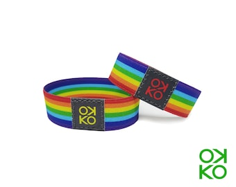 44 - Rainbow, bracelet, bracelet, made in Italy