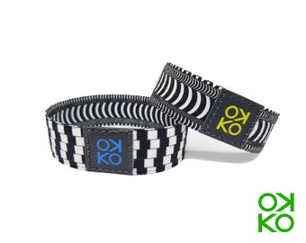 30 - Optical effect, bracelet, bracelet, made in Italy
