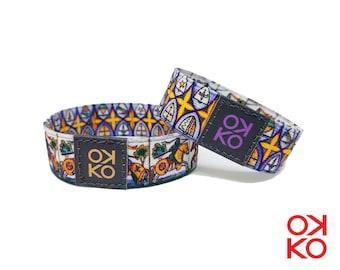 23 - Caltagirone, bracelet, bracelet, made in Italy