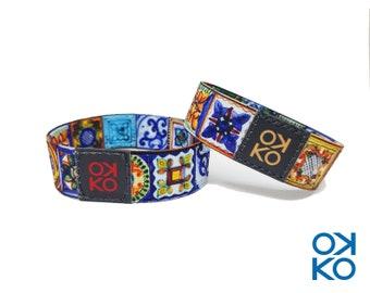 11 - Majolica, bracelet, bracelet, made in Italy