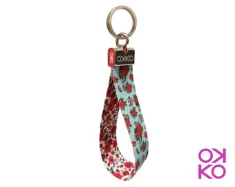 06 - Roses, keyring, made in Italy