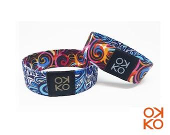 57 - Kaleido, bracelet, bracelet, made in Italy