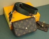 Handbags and Coin Purse Set Combo, Detachable Coin Purse and Secondary Handbag, Multi-purpose Handbag, Luxury Handbag