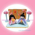 Hinamatsuri Japanese Doll's Festival Girl's Day Amigurumi PDF Crochet Pattern by HandmadeKitty