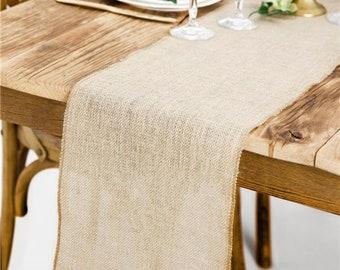 Hessian Table Runner - 5 Metre Roll, Wedding Table Runner, Rustic Wedding, Hessian Table Cover, Boho Wedding Decor