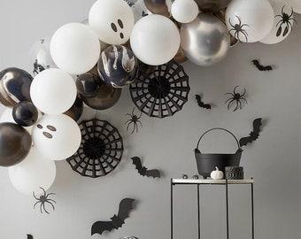 Halloween Balloon Garland Kit, Halloween Decoration, Halloween Balloon Arch, Halloween Party Supplies, Black Balloons, Halloween Birthday