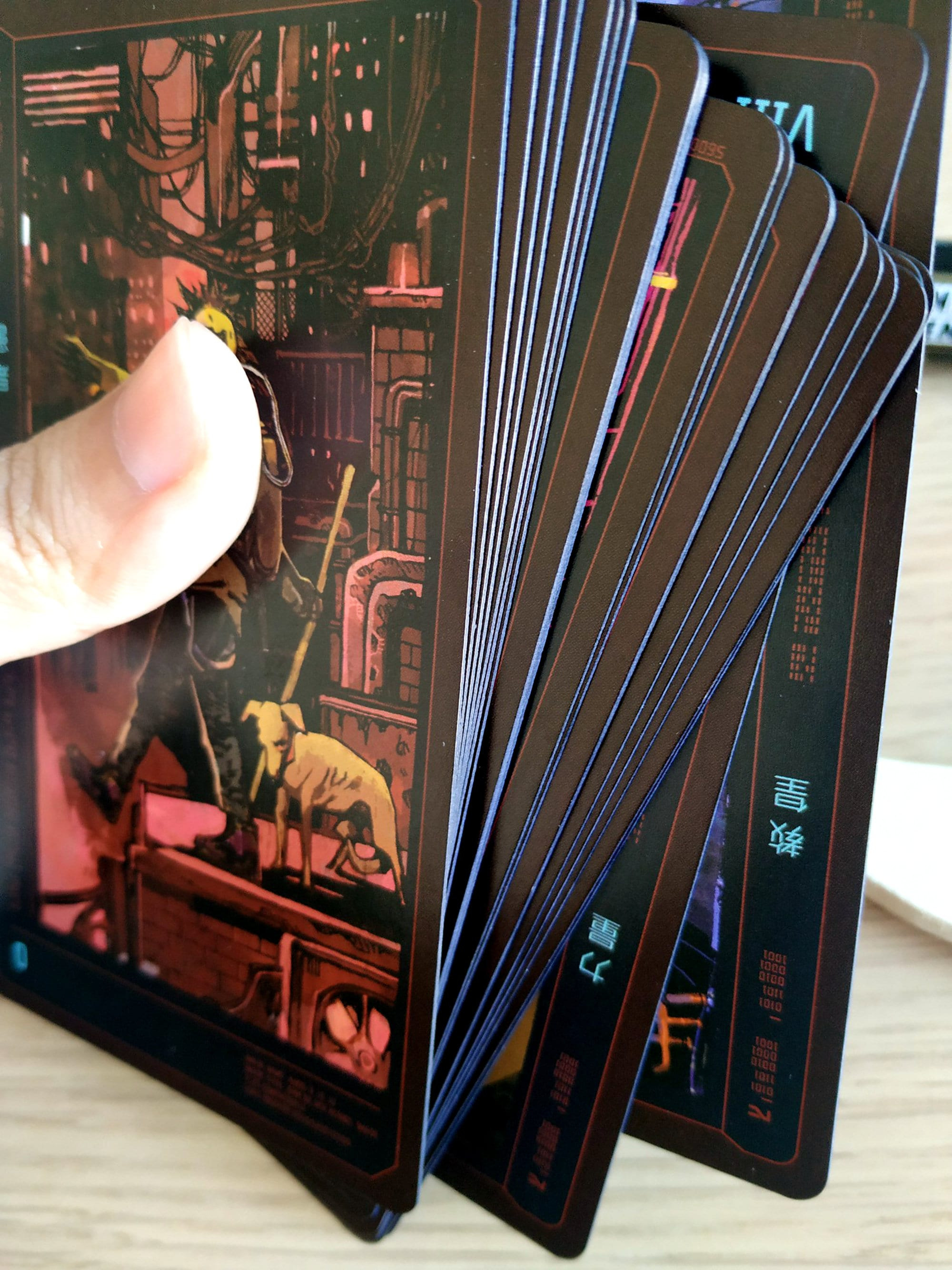 Cyberpunk 2077 tarot cards 22 deck cards game collection | Etsy
