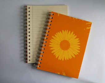 chamomile SCENTED A5 NOTEBOOK, luxury aromatherapy JOURNAL, unique gift ideas
