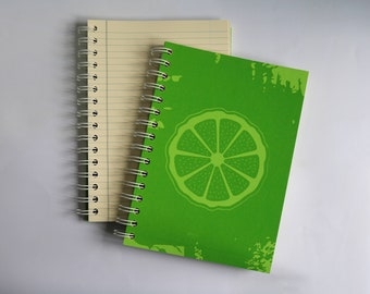 bergamot SCENTED A5 NOTEBOOK, luxury aromatherapy JOURNAL, unique gift ideas