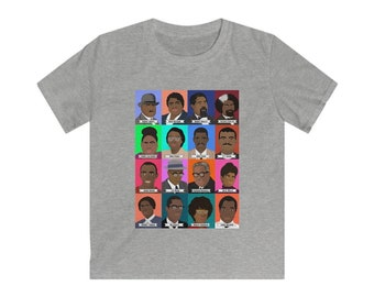 Black History Makers - Kids Softstyle Tee