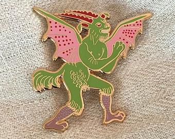 Devout Devil Pin