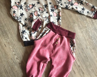 Pump pants Pulli Handmade set