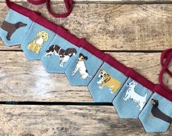 Mini Sophie Allport Bunting - Assorted Dogs - Fetch