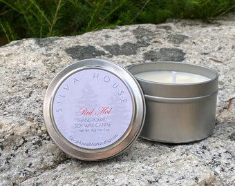 4 oz. Made to Order Hand Poured Soy Wax Candle in Your Choice of Scent