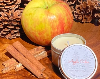 Hello, Fall! Autumn Sampler Pack - Five 2-oz. candles
