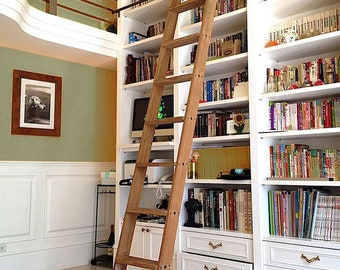 Library, Kitchen & Loft Ladders Handcrafted in Canada