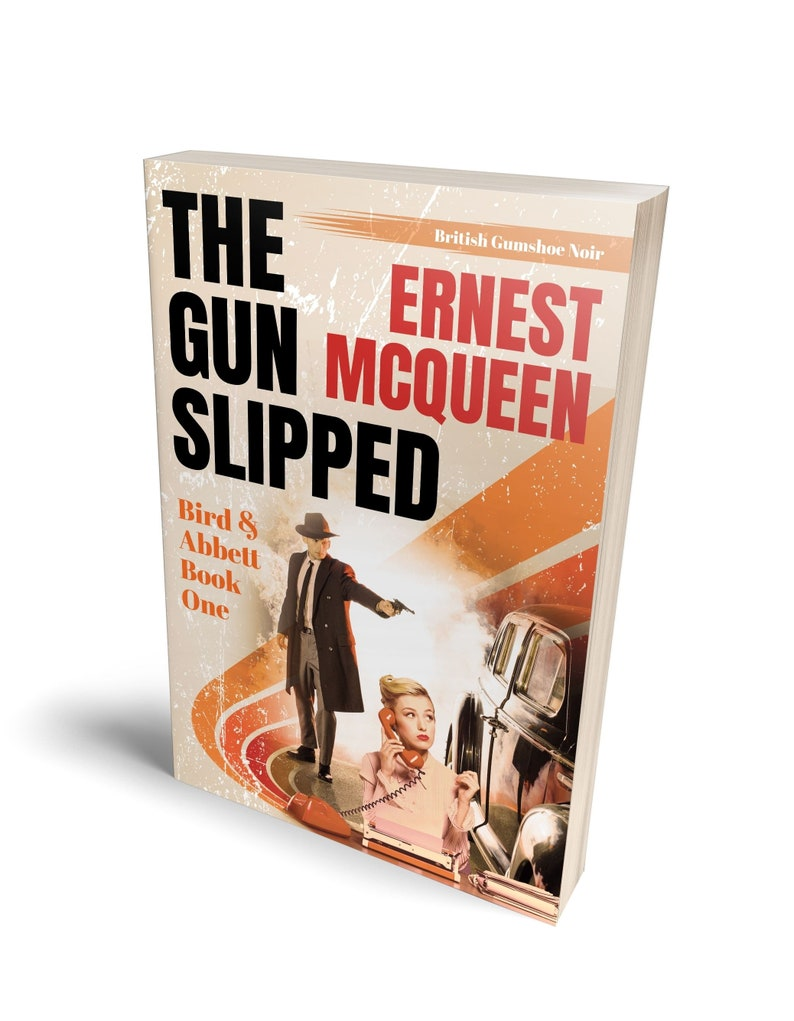 THE GUN SLIPPED by Ernest McQueen Signed Paperback image 0