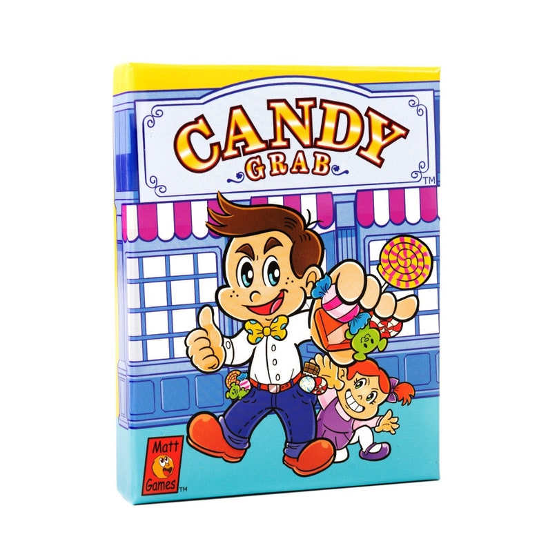 Candy Grab  Family-Friendly Competitive Card Game Easy to image 0