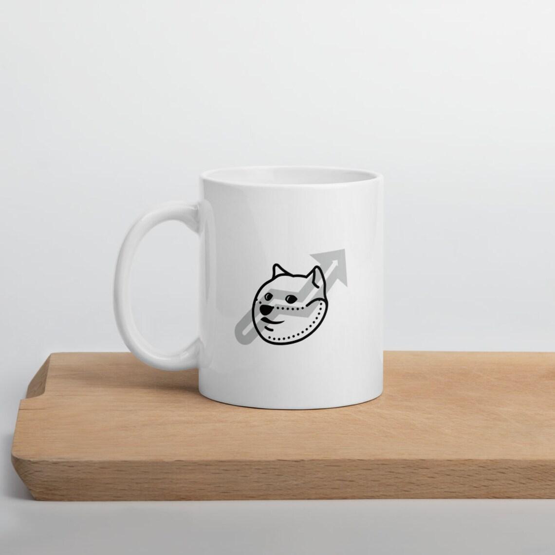 Dogecoin Shiba Stonks Mug Crypto Funny Gift Entrepreneur | Etsy
