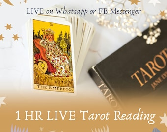 LIVE 1 Hour Tarot Reading, In depth tarot analysis live with Mystic Polly, WhatsApp or FB messenger reading