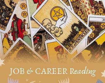 Career Tarot Reading, Job tarot reading, promotion tarot reading, career insight reading, life path reading,